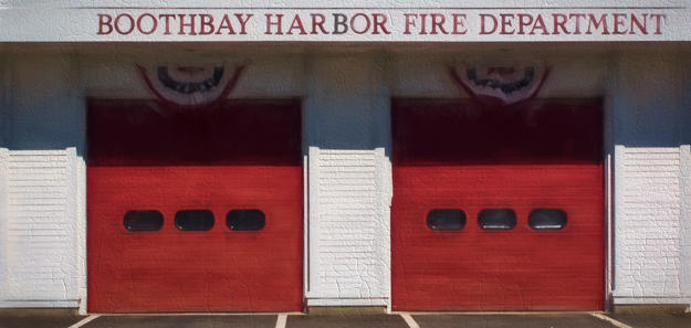 Boothbay Harbor Fire Department Art