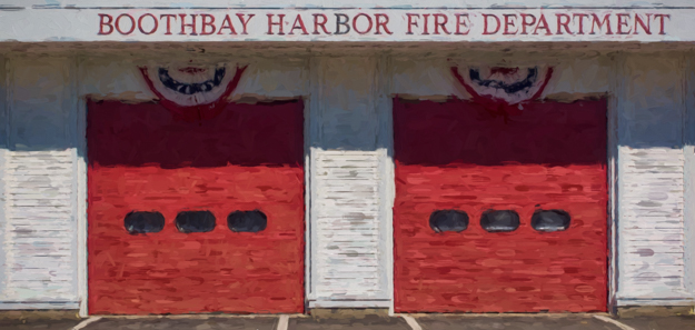 Boothbay Harbor Fire Department Art