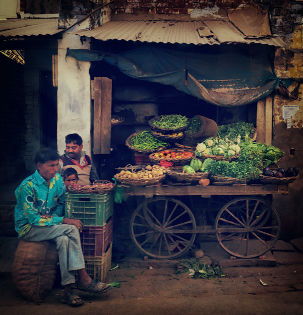 The Produce Stand, Agra India