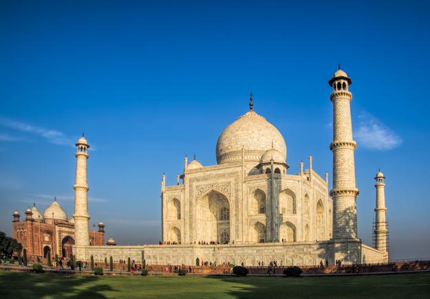 Taj Mahal Wide Angle