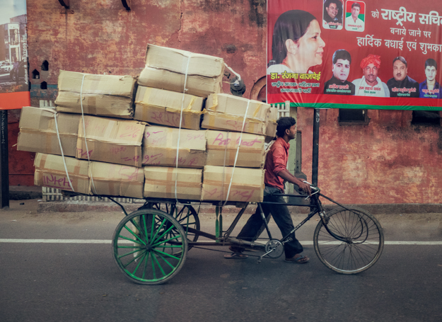 Bicycle Delivery, India