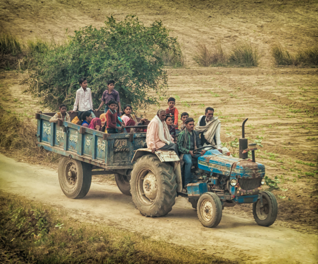Tractor Taxi - India