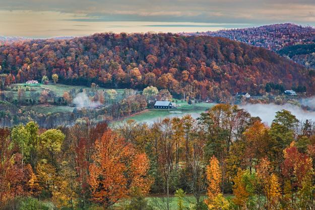 Vermont Autumn Countryside
