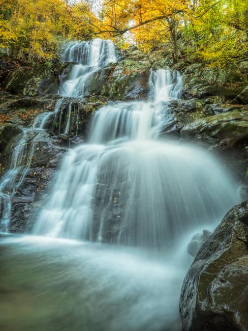 Dark Hollow Falls Close Up