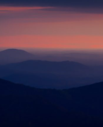 Just Before Sunrise, Thorofare Mountain Overlook