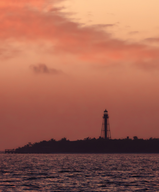 Sanibel Island Lighthouse at Sunrise