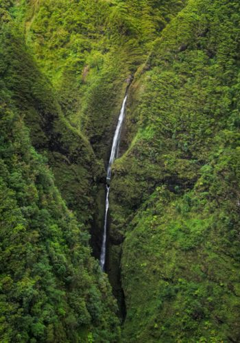 Sacred Falls, Helicopter View