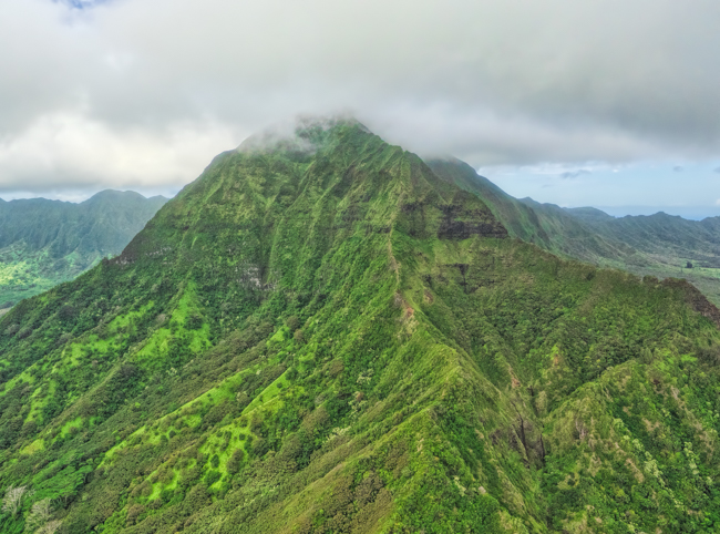 Oahu, Hawaii - Green Mountain
