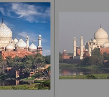Luminar 4 Sky Replacement - Taj Mahal