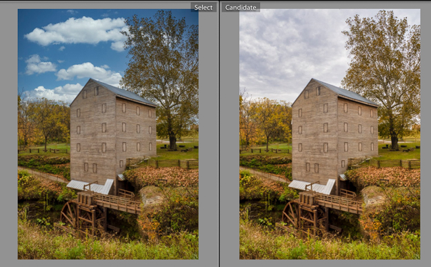 Luminar 4 Sky Replacement - Rock Mill