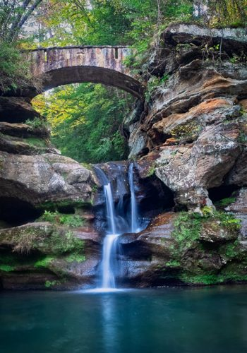 Upper Falls, Old Man's Cave, Hocking Hills