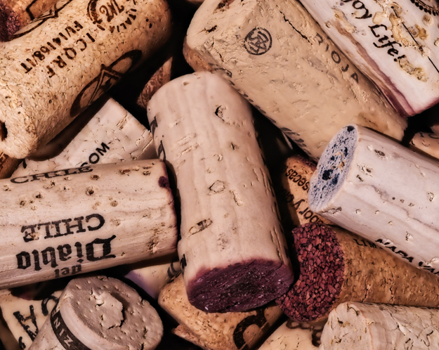 Wine Corks, Hand Held Focus Stacking