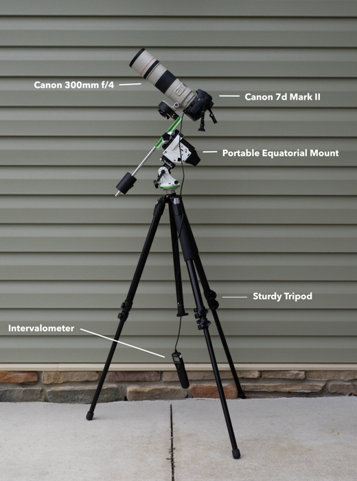 My Basic Deep Sky Astrophotography Setup