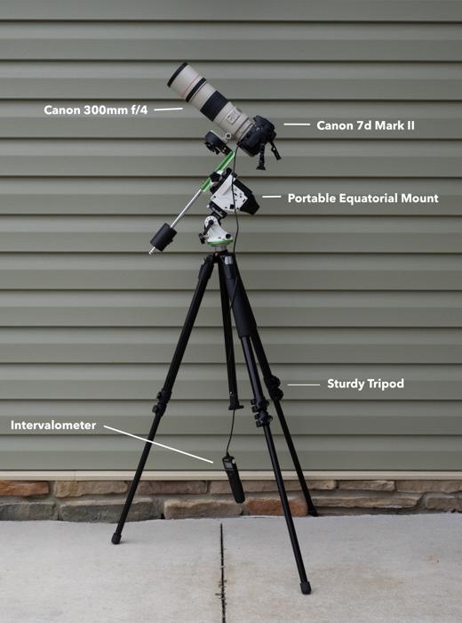 My Basic Deep Sky Astrophotography Setup