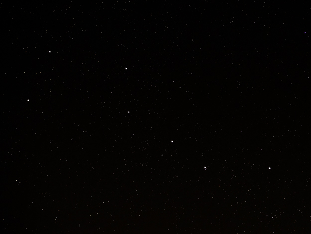Big Dipper using Gaussian Blur