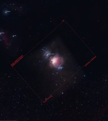 Stellarium Image Sensor Frame