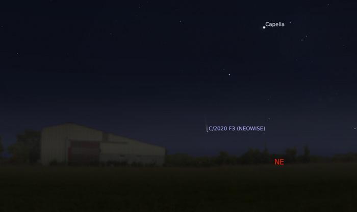 Stellarium Add Comet