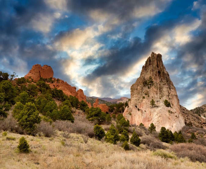 Cathedral Rock, Garden of the Gods - Before