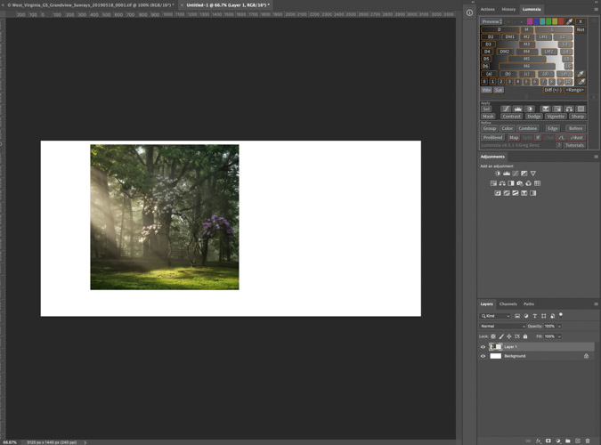 Copy the Cropped Image to the New Canvas