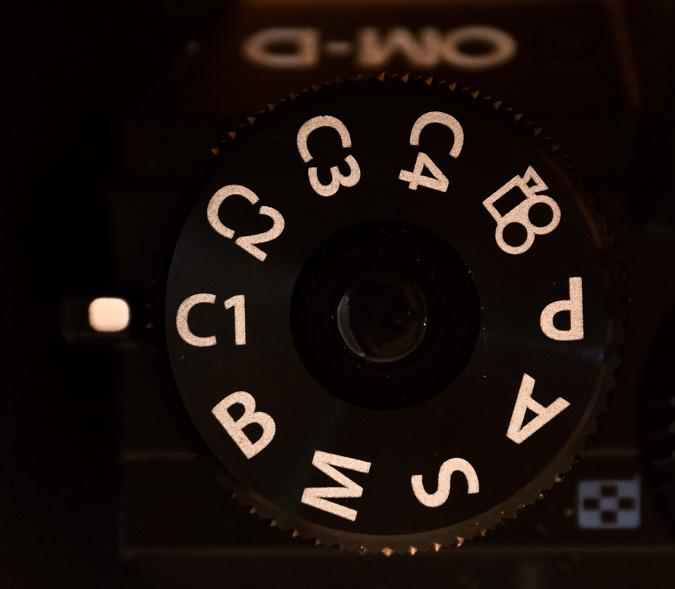 Custom Mode Dial