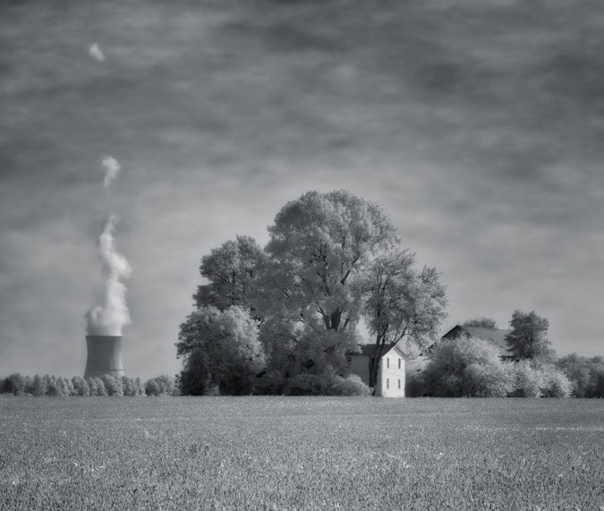 Infrared Photograph taken with E-M10 Mark III