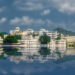 Lake Pichola, Reflection Created with Flood 2