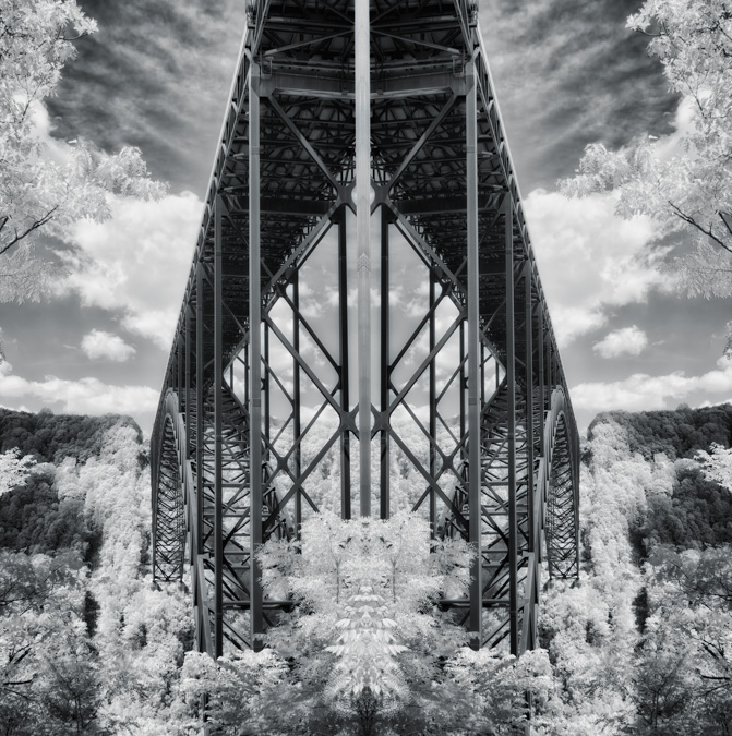 New River Gorge Bridge - Mirror Image