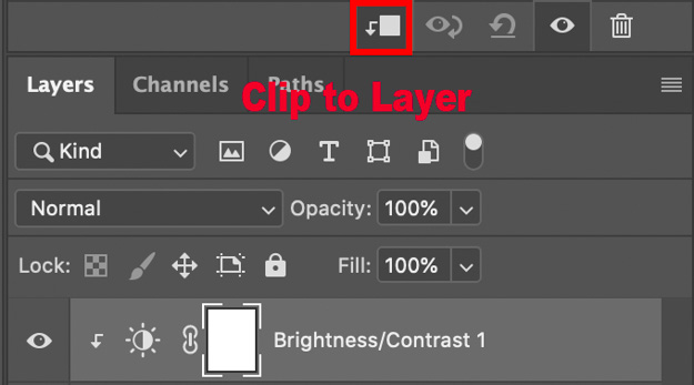 Clipping an Adjustment Layer to only effect the Background