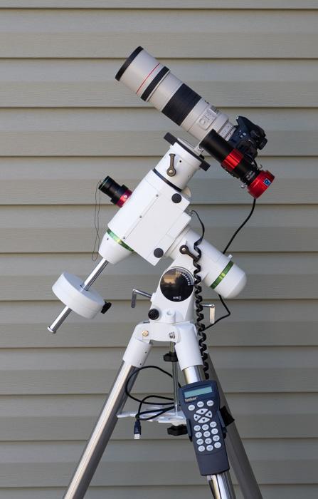 My Sky-Watcher HEQ5 Set Up
