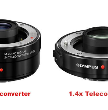 Olympus 1.4x and 2.0x Teleconverter