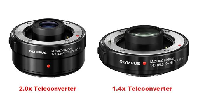 Olympus 1.4x and 2.0x Teleconverter