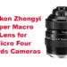 Mitakon Zhongyi Super Macro Lens for Micro Four Thirds Cameras
