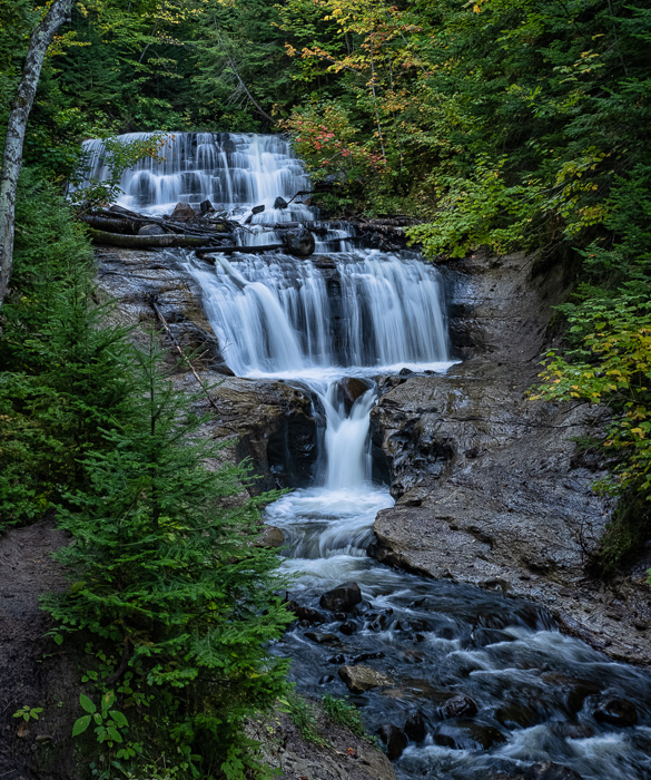 Sable Falls - ISO 640, f/6.3, 1/4 Second, ND16