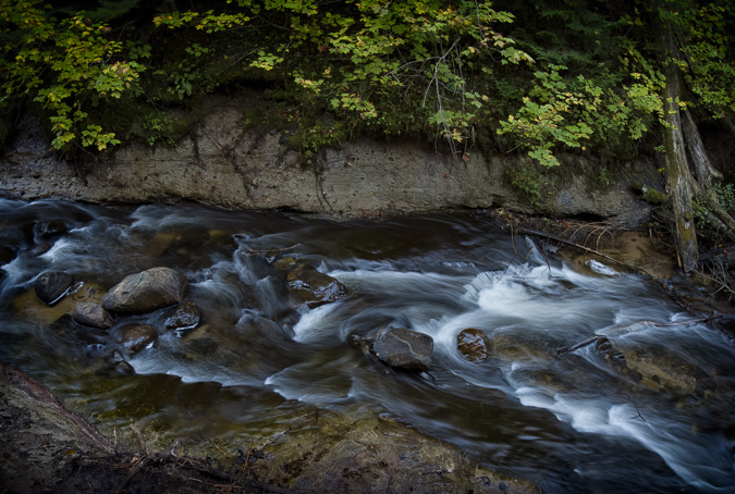 Rapids below Sable Falls - ISO 640, f/7.1, .8 Seconds, ND16